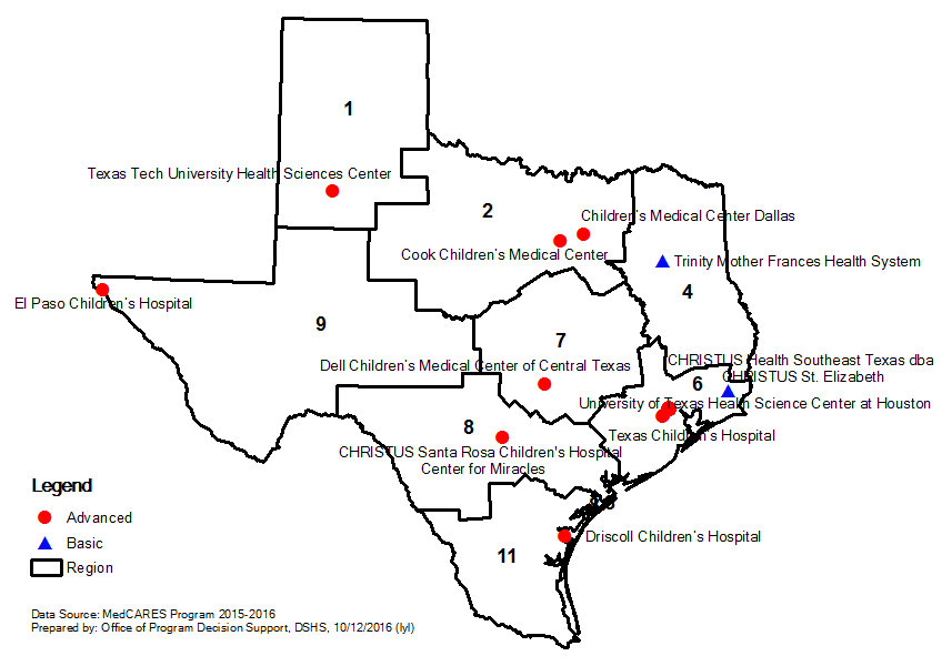 Map Of Texas Medical Center.Maternal Child Health Mch Medical Child Abuse Resources And