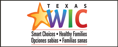 Texas WIC Logo sticker example