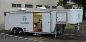 Mobile radiochemical laboratory