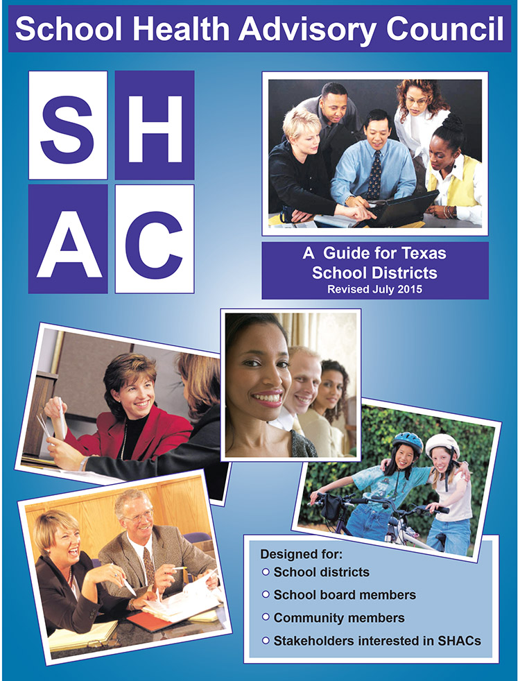 Picture of School Health Advisory Council: A Guide for Texas School Districts