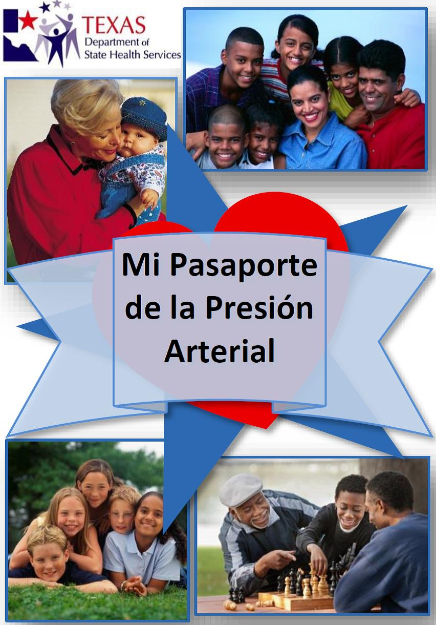 Blood Pressure Passport Spanish Cover