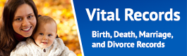 Vital Records: Birth Death, Marriage, and Divorce