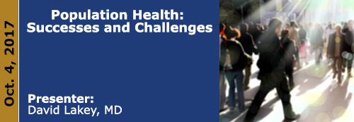 Population Health: Successes and Challenges