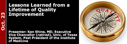 10-23-13 Lessons Learned from a Lifetime of Quality Improvement