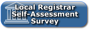 Local Registrar Self-Assessment Survey