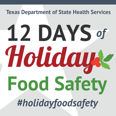12 Days of Holiday Food Safety Teaser