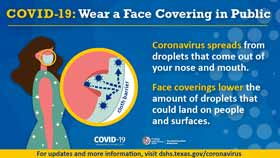 Face Coverings Help Slow COVID-19  - thumb