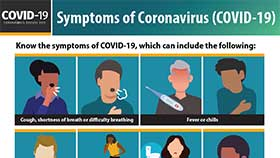 thumbnail of Symptoms of Coronavirus - English
