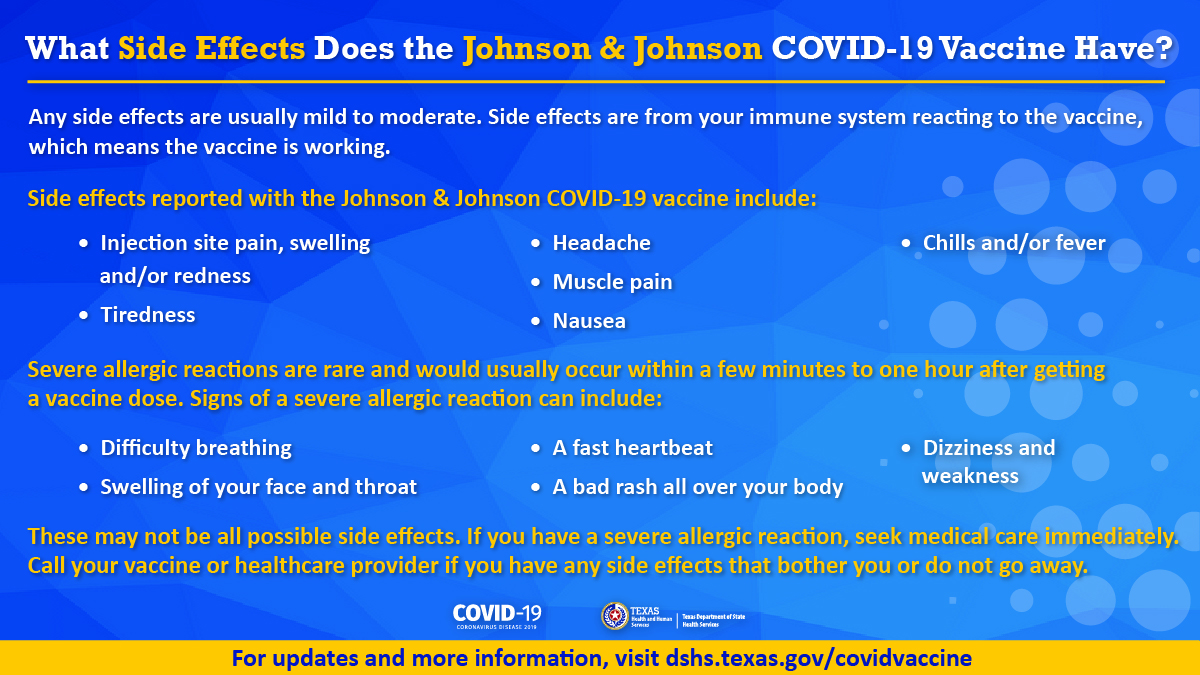Johnson & Johnson COVID-19 Vaccine Side Effects - thumbnail