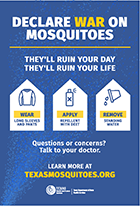 Declare WAR on Mosquitoes push card thumbnail (English)
