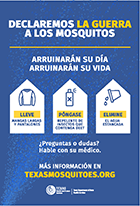 Declare WAR on Mosquitoes push card thumbnail (Spanish)