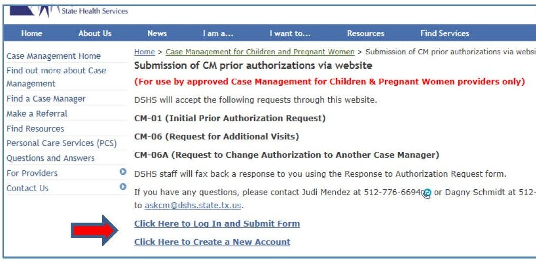 Prior Authorization System Training Guide