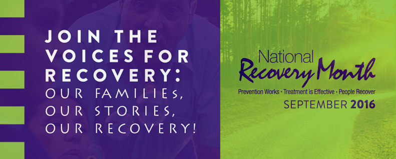 2016 National Recovery Month