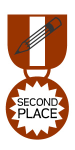 Medal - Second Place Writing
