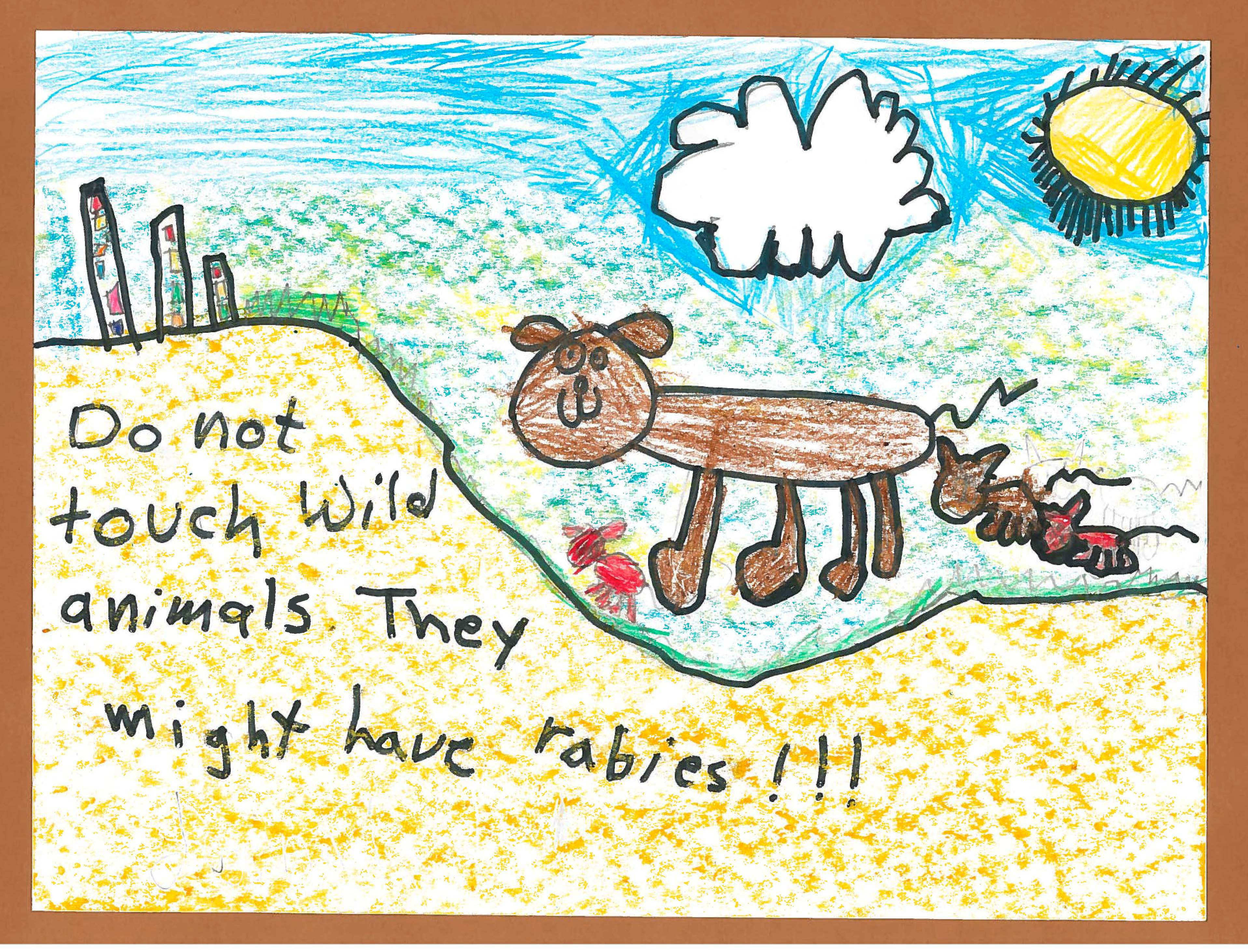 Rabies Poster Contest
