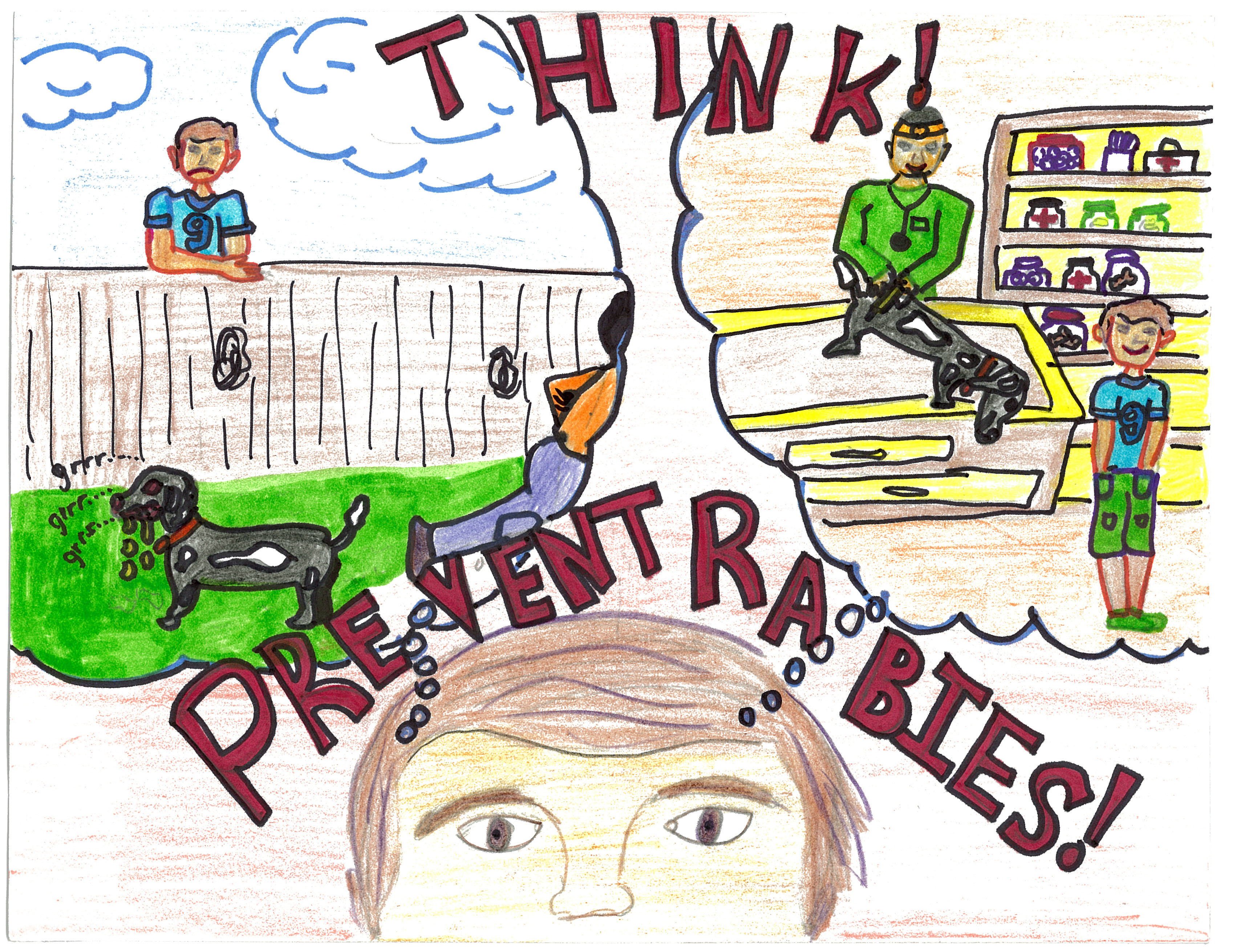 Rabies Awareness & Prevention Poster Contest Winners