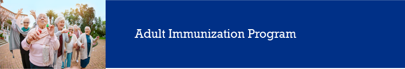 Adult Immunization Bar