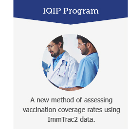 IQIP Program: A new method of assessing vaccination coverage rates using ImTrac2 data.