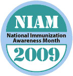 National Immunization Awareness Month 2009 logo