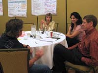 TNSPMP team members in discussion