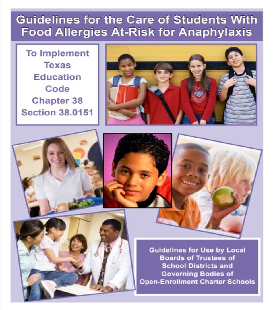 Guidelines for Food Allergies Document