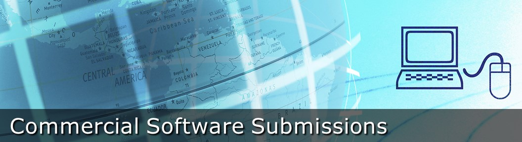 Commercial Software Submissions