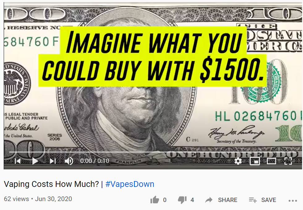vaping costs