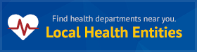 Find local heath departments near you.