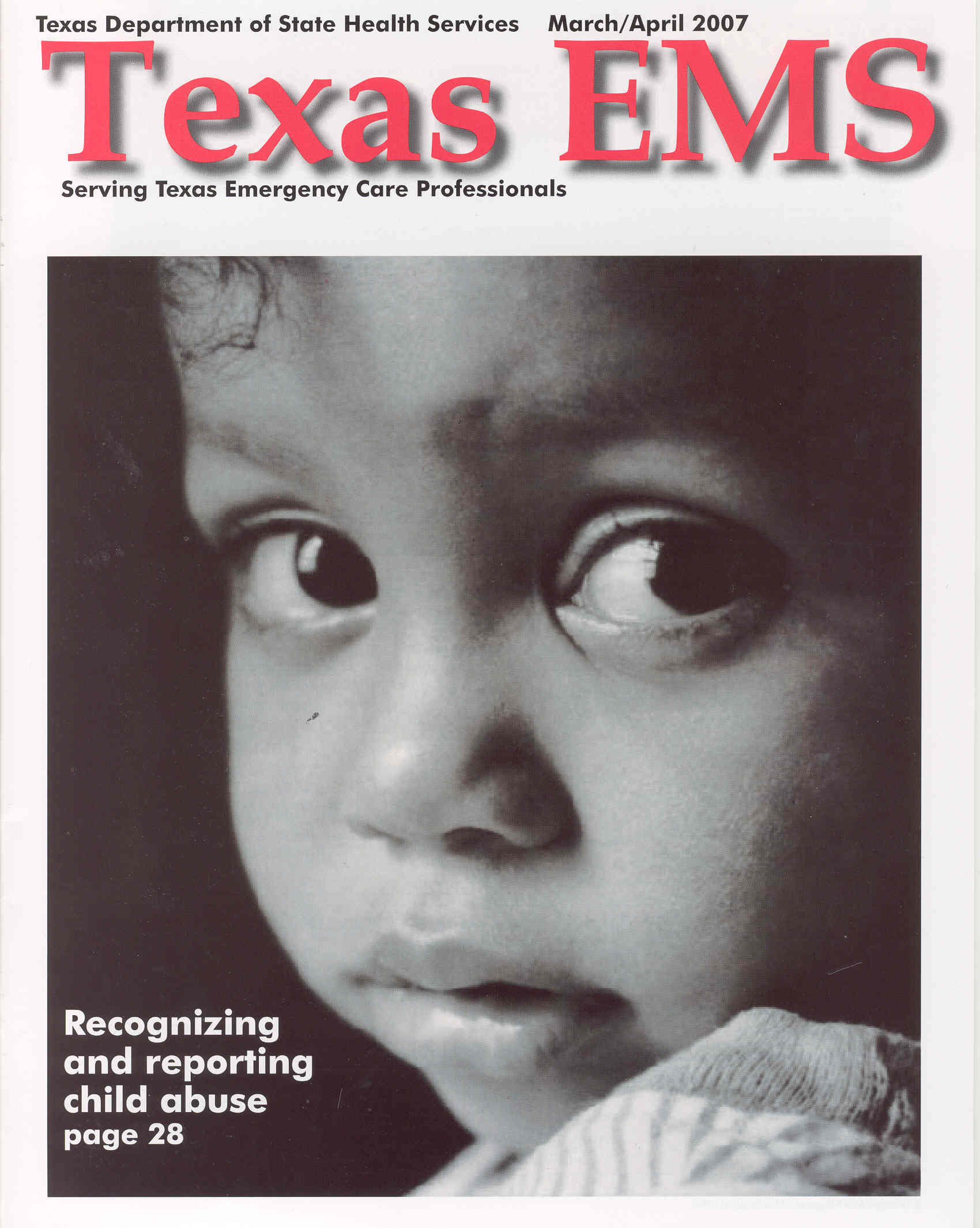 March April 2007 Cover