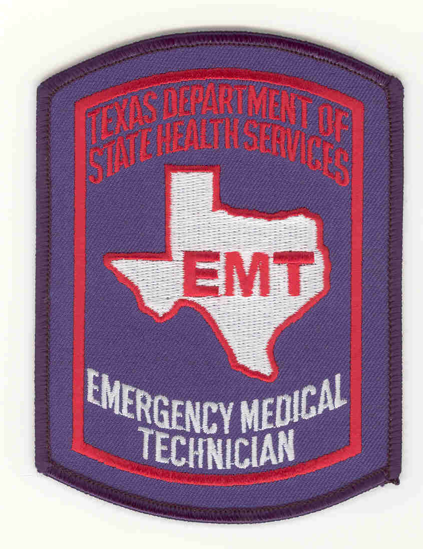 Applications and forms ems trauma systems emergency medical technician patch xflitez Choice Image