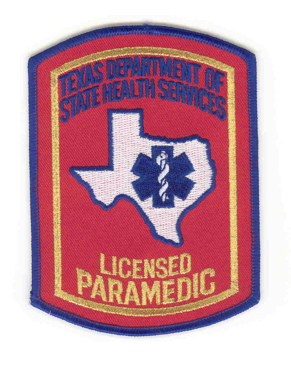 Applications and forms ems trauma systems licensed paramedic patch 1betcityfo Images