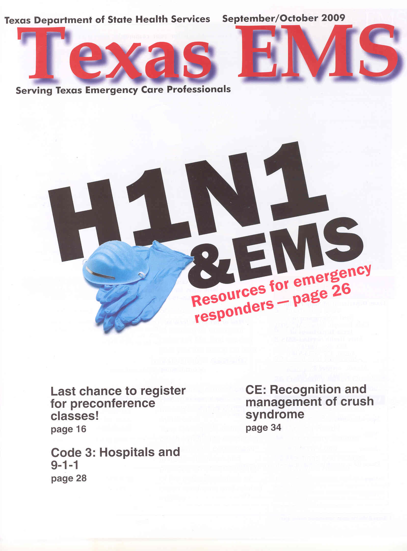 September October 2009 Cover