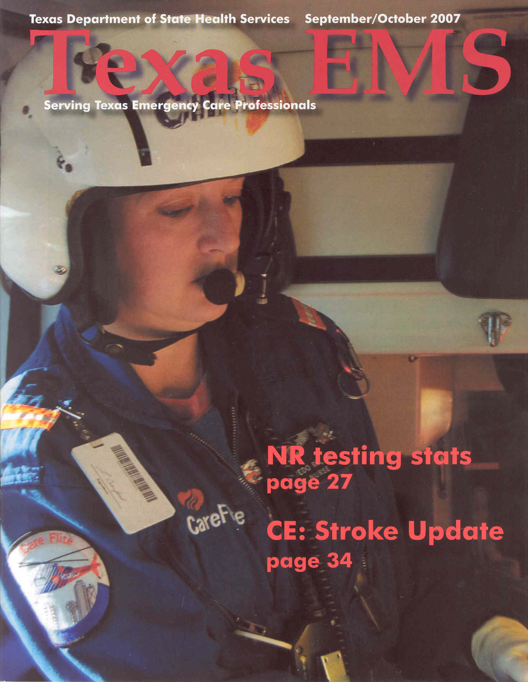 September October 2007 Cover