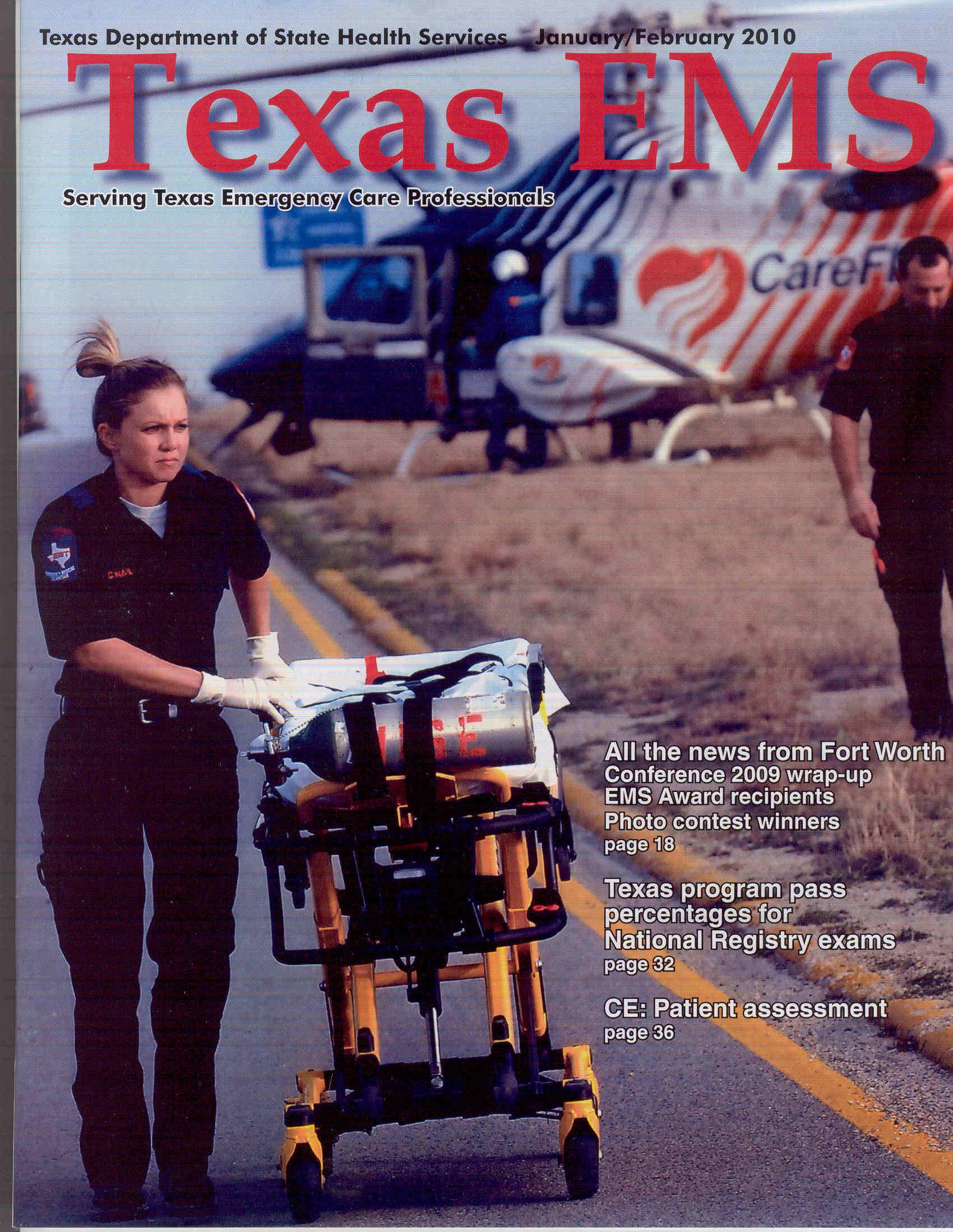 Texas Ems Magazine Texas Department Of State Health Services Ems